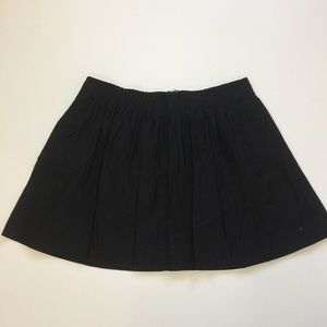 Banana Republic black mini skirt